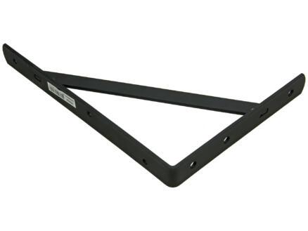 Mack plankdrager versterkt 200x300 mm zwart