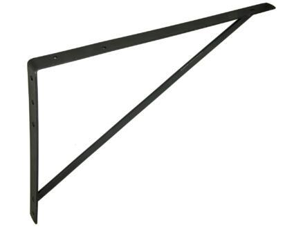 Mack plankdrager versterkt 400x600 mm zwart