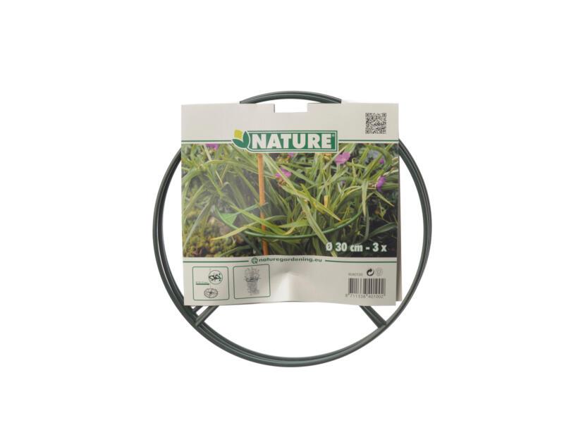 Nature plantensteun 30cm 3 stuks