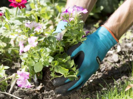 Gardena planthandschoenen 7/S latex