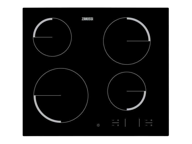 Zanussi plaque de cuisson vitrocéramique 59cm 4 zones