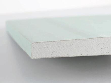 Knauf plaque de plâtre hydrofuge HRK 12,5mm 260x60 cm