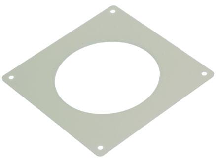 Renson plaque de recouvrement 100mm blanc 2 pièces
