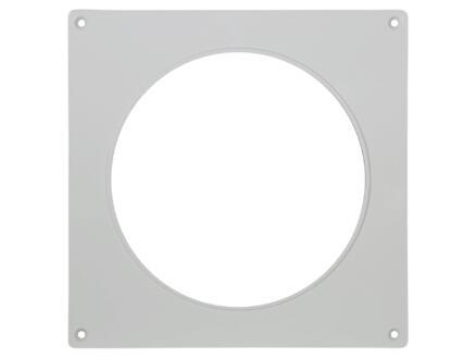 Renson plaque de recouvrement 150mm blanc 2 pièces