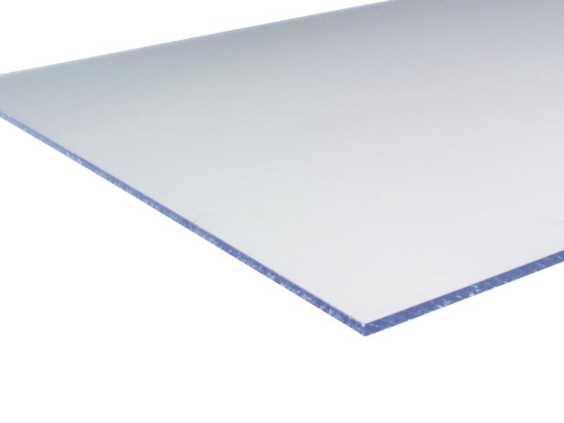 Scala plaque polystyrène  100x100 cm 2mm cristal