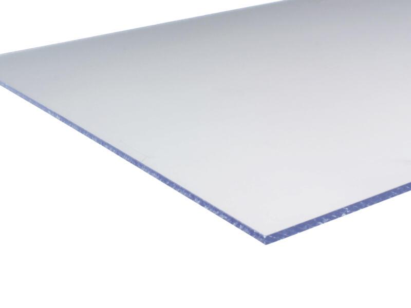 Scala plaque polystyrène 50x50 cm 2,5mm blanc