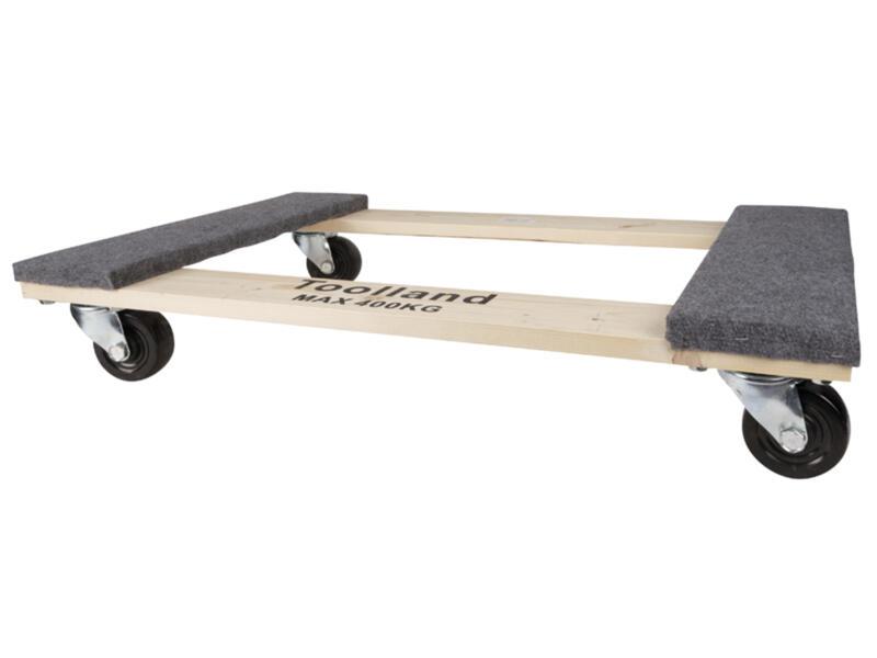 Toolland plateau roulant 76x46 cm 400kg