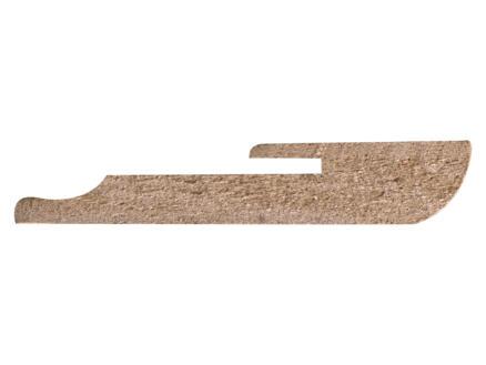 CanDo plint 56x10 mm 240cm ahorn naturel