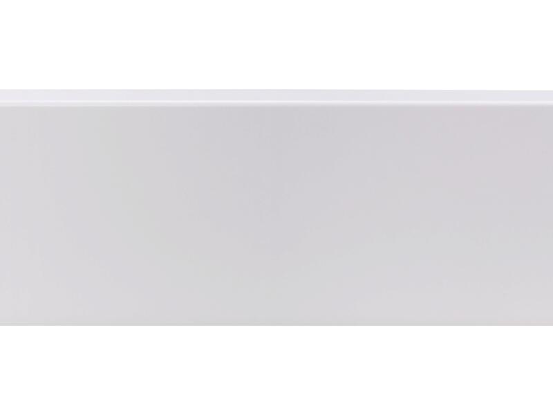 CanDo plinthe 120x12 mm 240cm blanc cubic