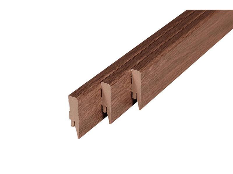 Eurohome plinthe 58x14 mm 250cm barnwood oak