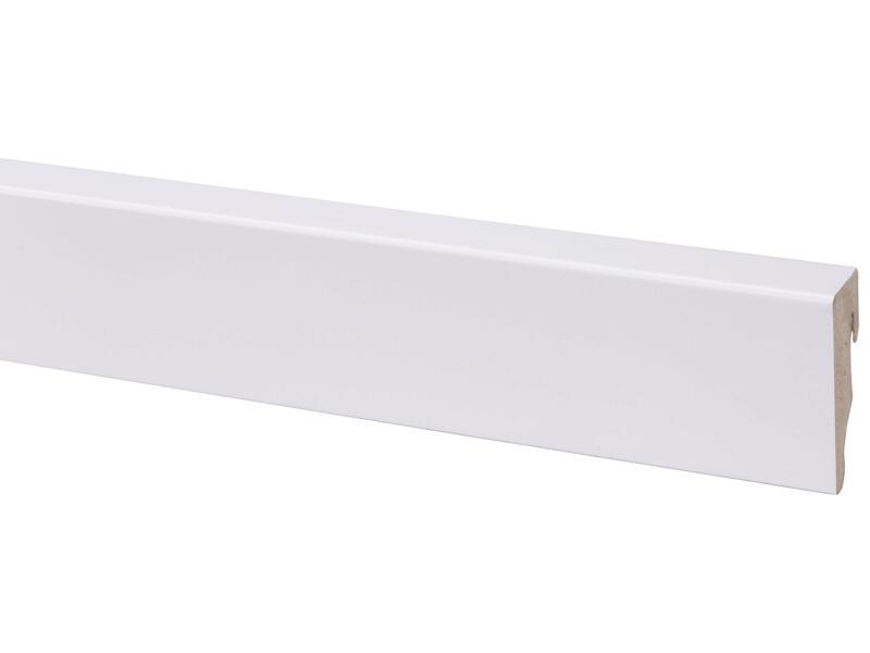 CanDo plinthe 58x19 mm 240cm blanc cubic