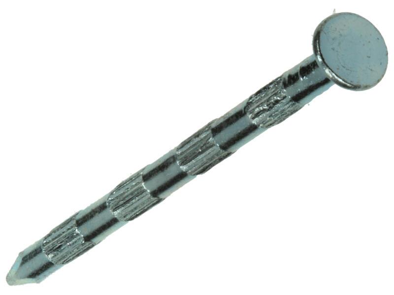 Mack pointes cannelées à tête plate 2,7x50 mm 16 pièces