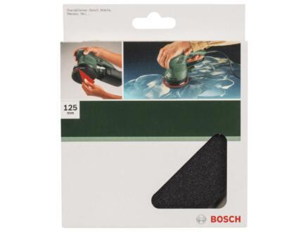Bosch polijstspons klittenband 125mm