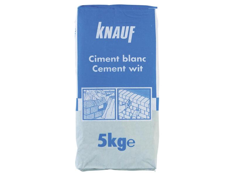 Knauf portlandcement 5kg wit