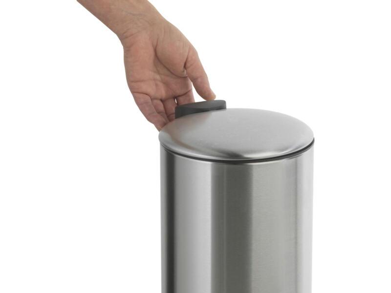 Practo Home poubelle à pédale 3l inox mat