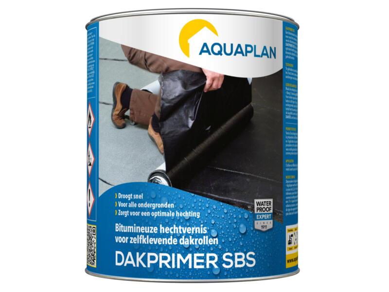 Aquaplan primer SBS pour membrane d'étanchéité autoadhésive 1l