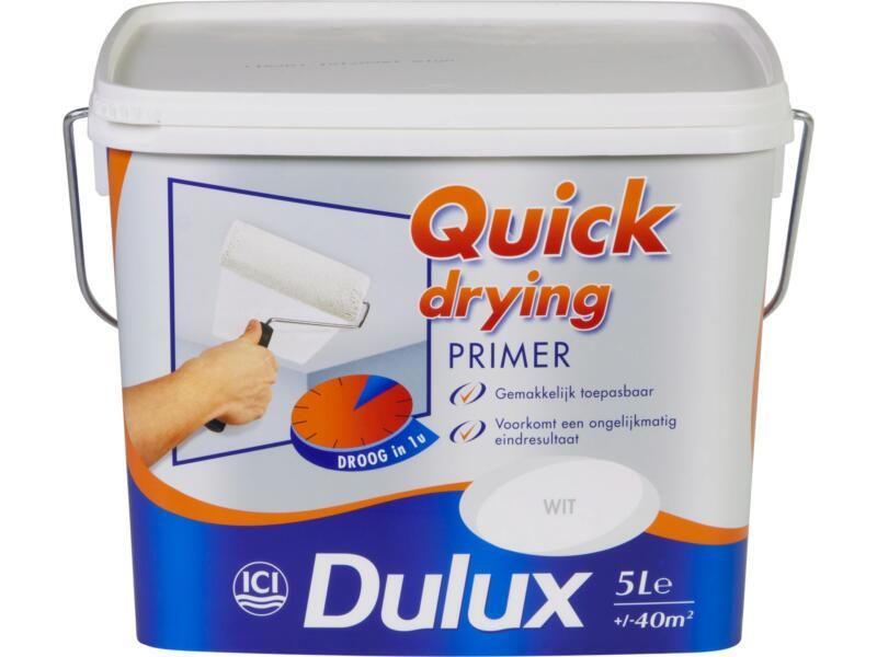 Dulux primer à séchage rapide 5l blanc