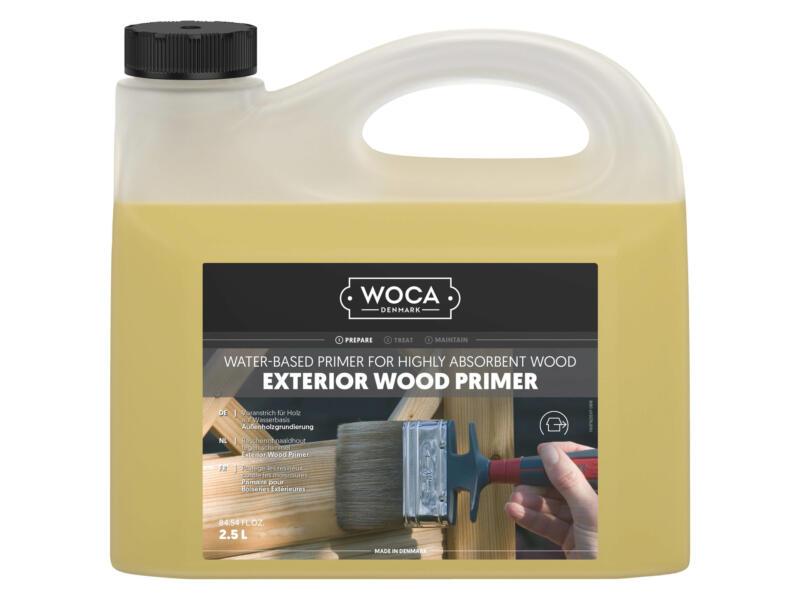 Woca primer bois extérieur 2,5l incolore
