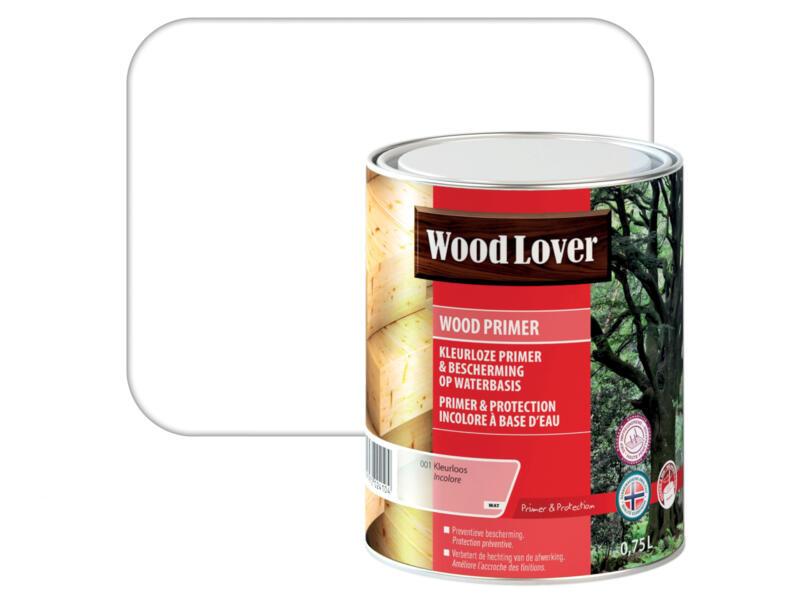 Wood Lover primer buitenhout 0,75l kleurloos