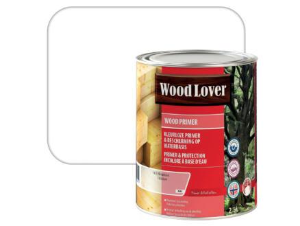 Wood Lover primer buitenhout 2,5l kleurloos