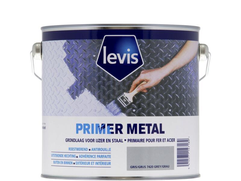 Levis primer roestwerend metaal 2,5l grijs