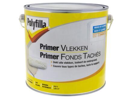 Polyfilla primer vlekken 2,5l wit