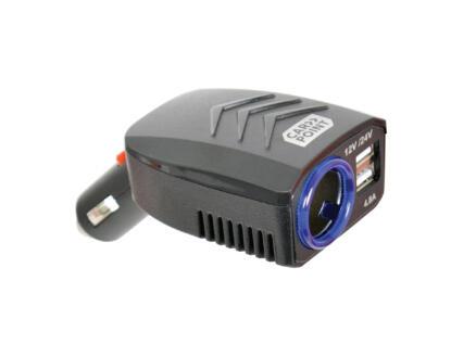 Carpoint prise double USB 12-24 V