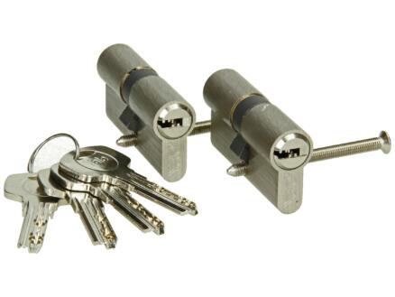 Yale profielcilinder 1000 30/30 60mm 2 stuks