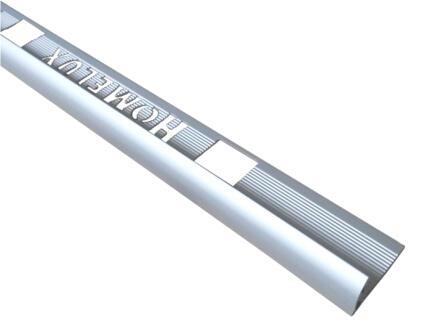 Homelux profil de carrelage 10mm 270cm aluminium mat