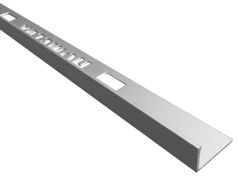 Homelux profil de carrelage 8mm 120cm aluminium argent