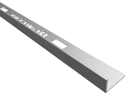 Homelux profil de carrelage 8mm 270cm aluminium mat