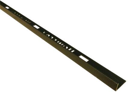 Homelux profil de carrelage 8mm 270cm anthracite