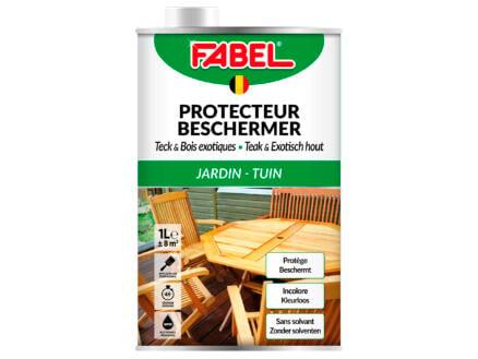 Fabel protection du bois teck & bois exotique 1l incolore