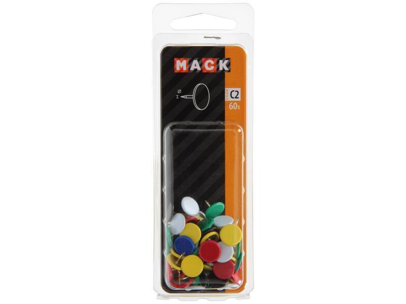 Mack punaises 60 pièces