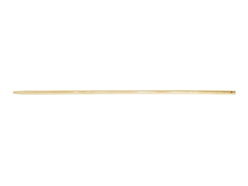 Polet raaksteel 150cm hout