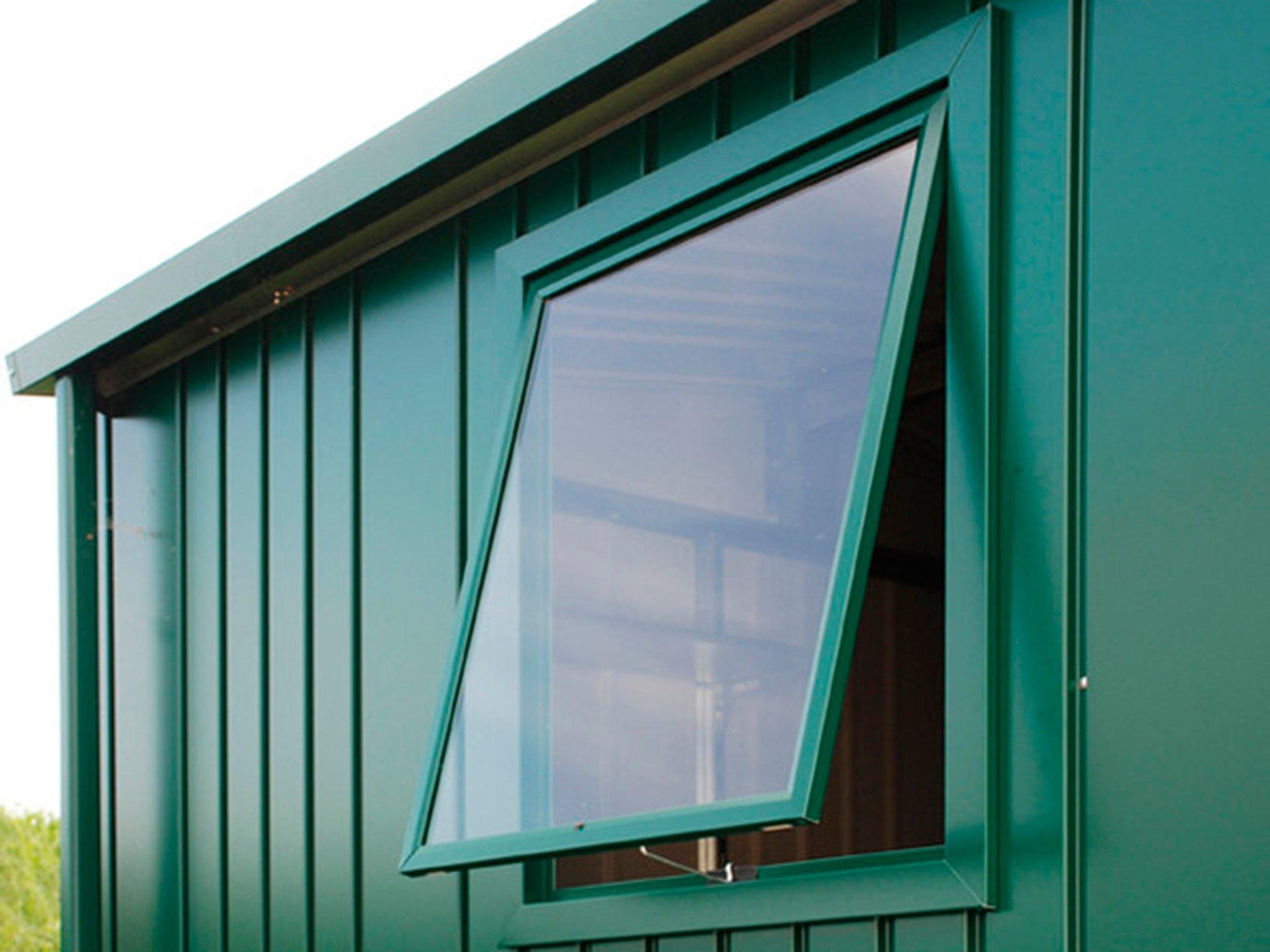 Ongebruikt Biohort raam voor tuinhuis Europa donkergrijs metallic   Hubo WA-35