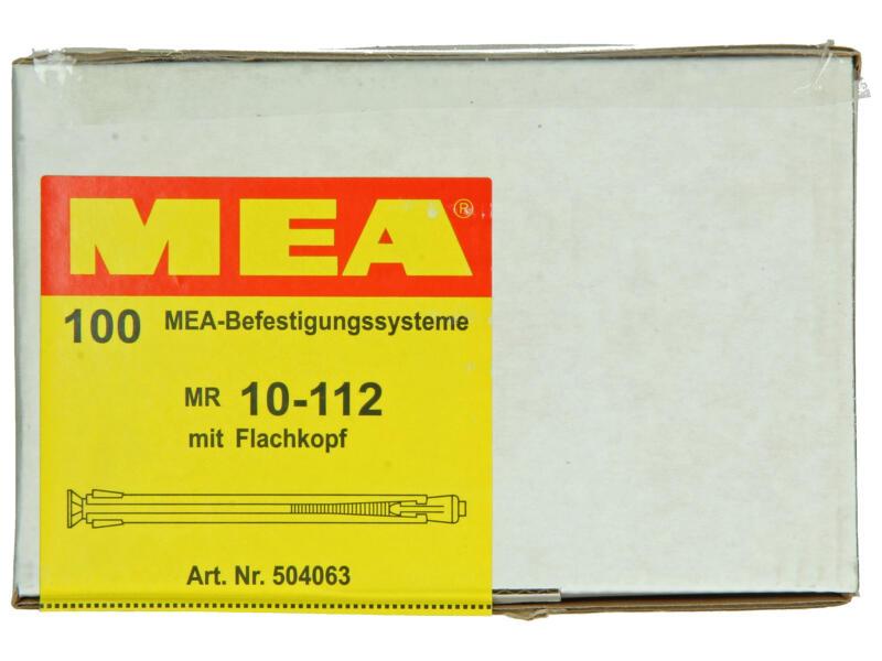 Celo raampluggen 10x112 mm metaal 100 stuks