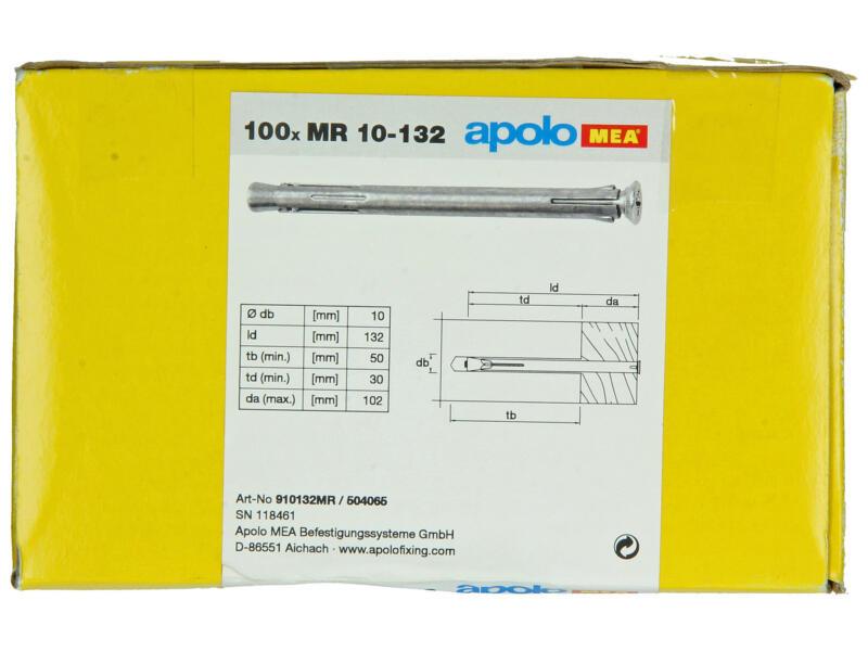 Celo raampluggen 10x132 mm metaal 100 stuks