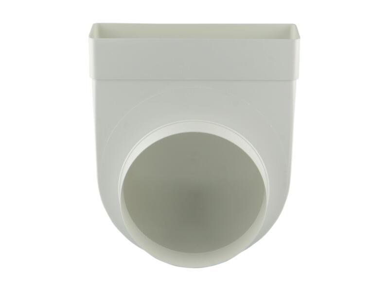 Renson raccord cornière 90° type 7017 150mm blanc