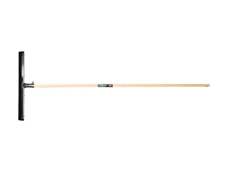 Polet raclette sol 55cm noir + manche 150cm