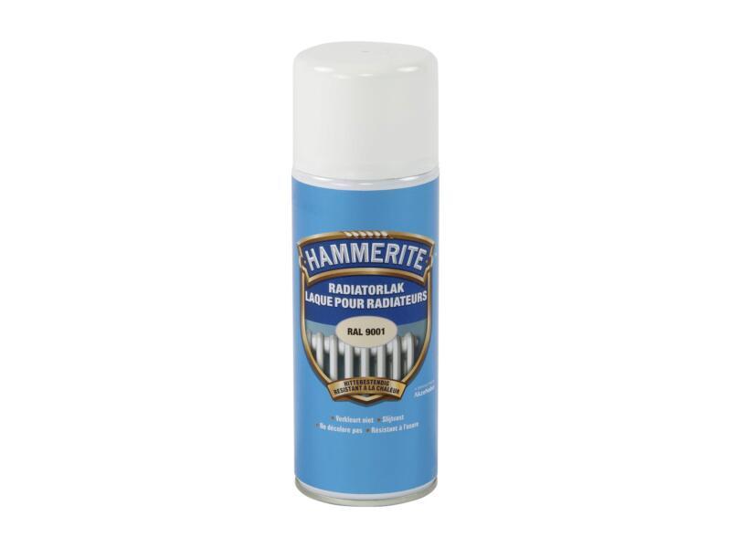 Hammerite radiatorlak spray 0,4l crèmewit