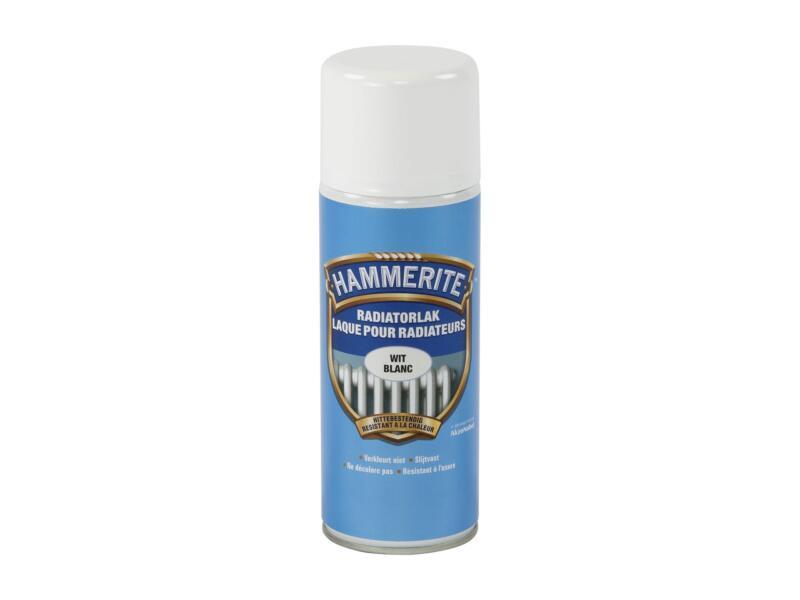 Hammerite radiatorlak spray 0,4l wit