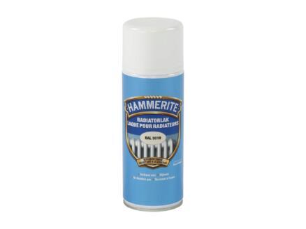 Hammerite radiatorlak spray 0,4l zuiver wit