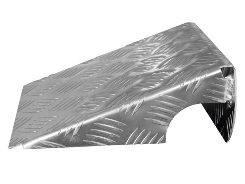 rampe d'accès 32cm aluminium 2 pièces