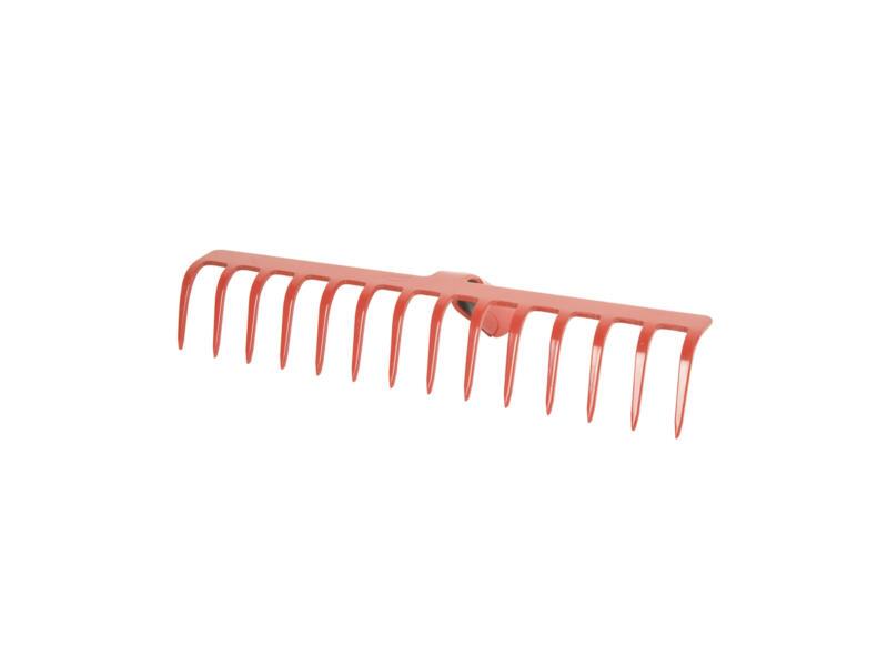 Polet râteau de jardin 41cm 14 dents sans manche