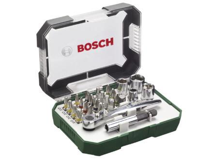 Bosch ratelset 26-delig