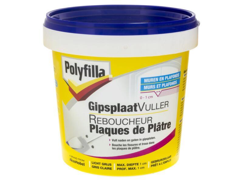 Polyfilla reboucheur plaques de plâtre 1l gris clair