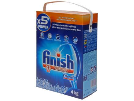 Finish regenereerzout voor vaatwasmachine 4kg