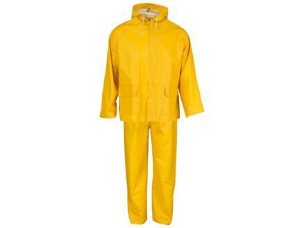 Busters regenpak M geel