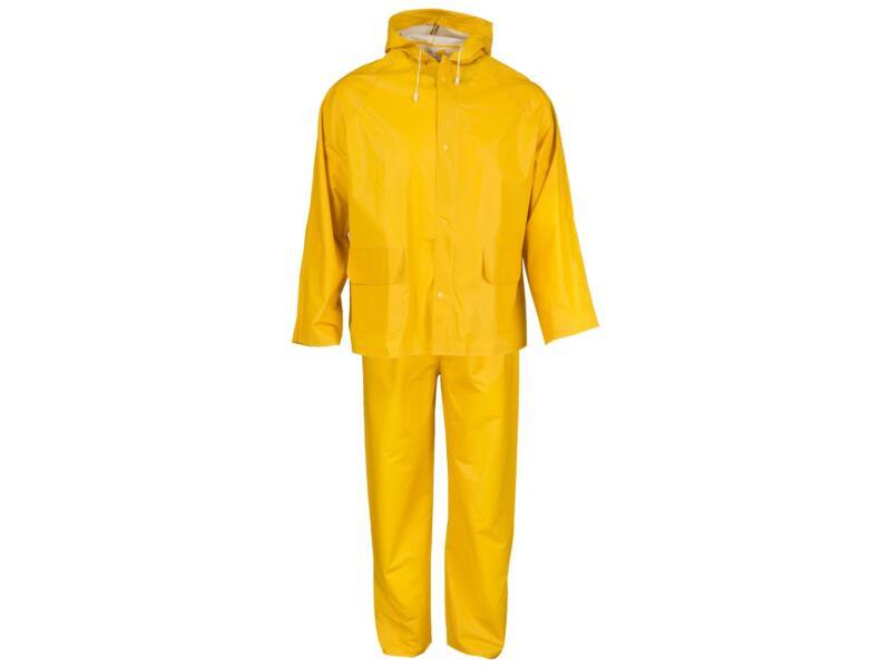 Busters regenpak XL geel